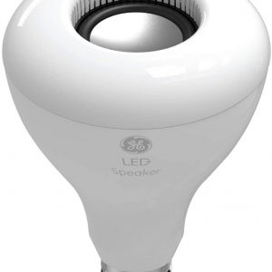 GE LED+ BR30 Indoor LED Light Bulb Replacement Bulb with Bluetooth Speaker